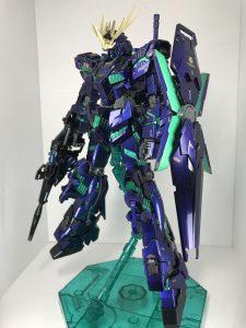 MG バンシィ ver.ka 「青から紫へ」プリズム&覚醒カラーリング