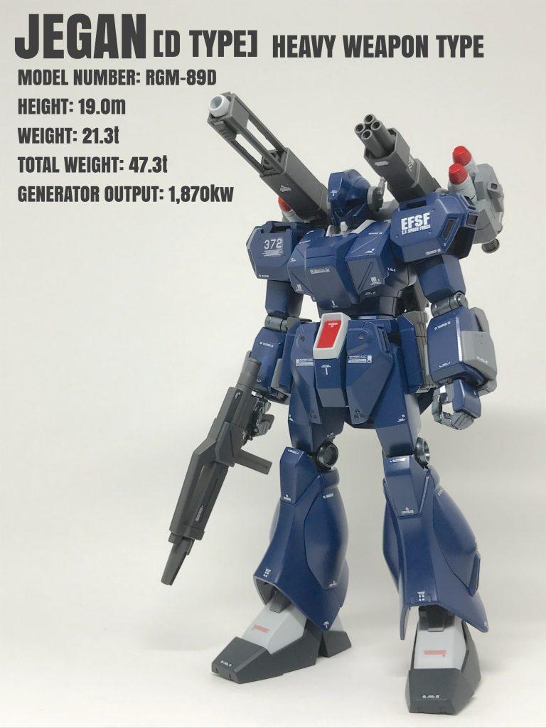 ジェガンD型(重武装タイプ)