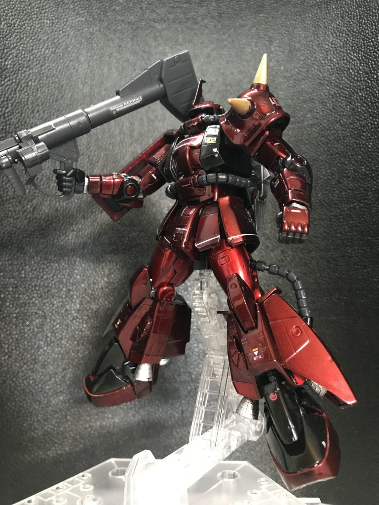 RG ジョニー・ライデン専用高起動型ザク メタリック塗装