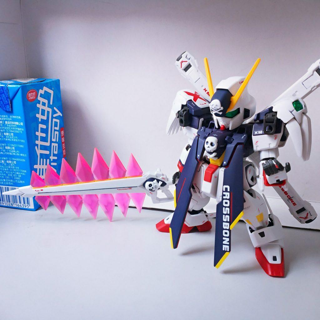 SD Cross Bone Gundam Full Cloth 制作工程2