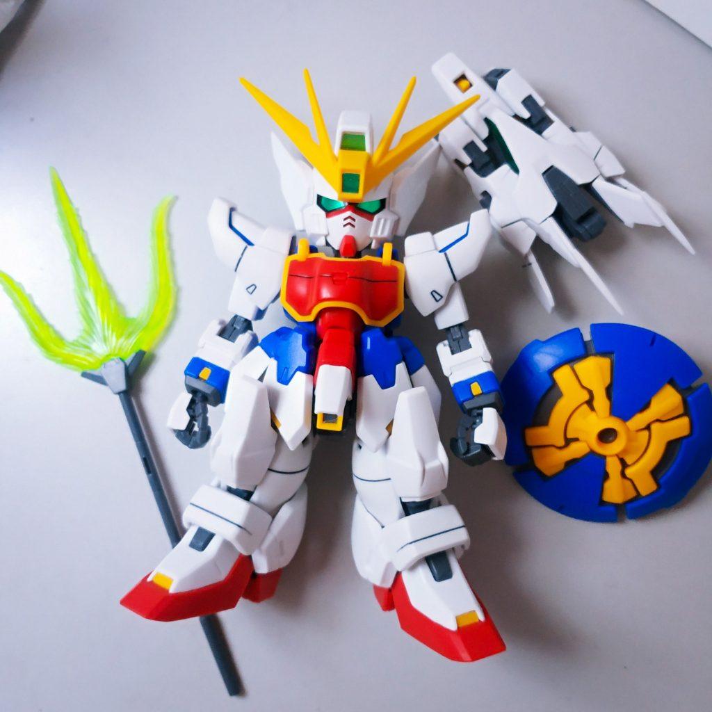 SD Shenlong Gundam 制作工程1