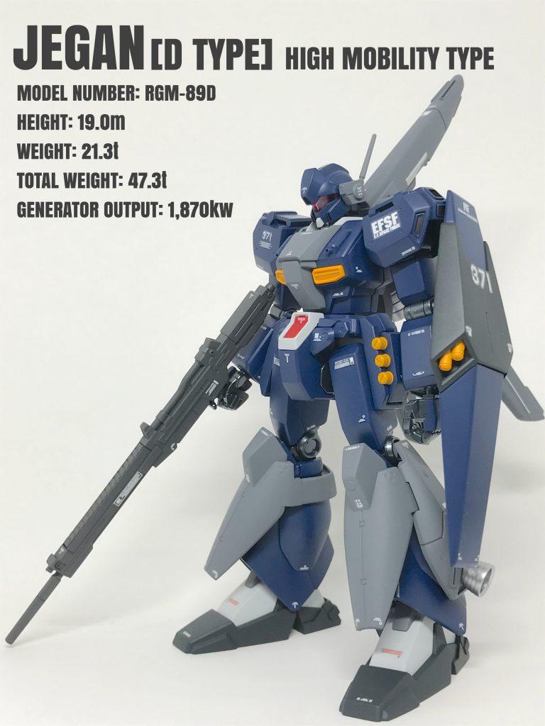 ジェガンD型(高機動タイプ)