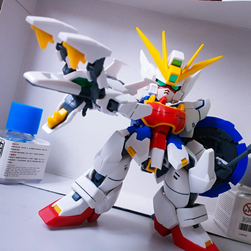 SD Shenlong Gundam アピールショット3