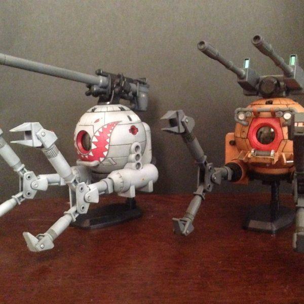 HGUC 1/144 ボールK型(第08MS小隊版)&ボール(シャークマウス仕様)