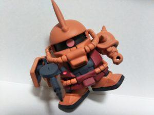 SD シャア専用ザクⅡ