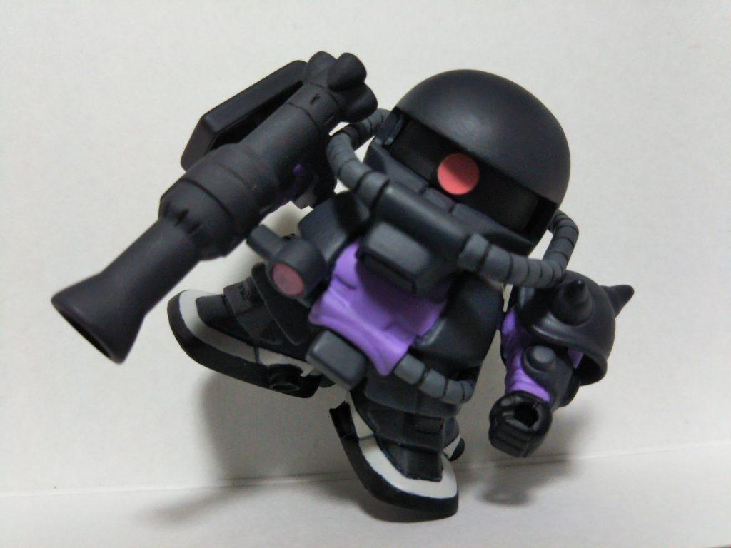 SD ザクⅡ 黒い三連星仕様