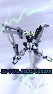 RX-78AL ATLAS GUNDAM(ロールアウトカラー)