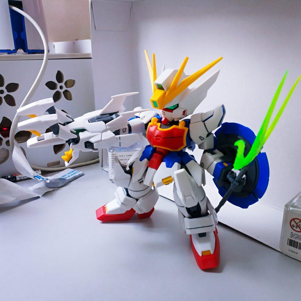 SD Shenlong Gundam アピールショット4