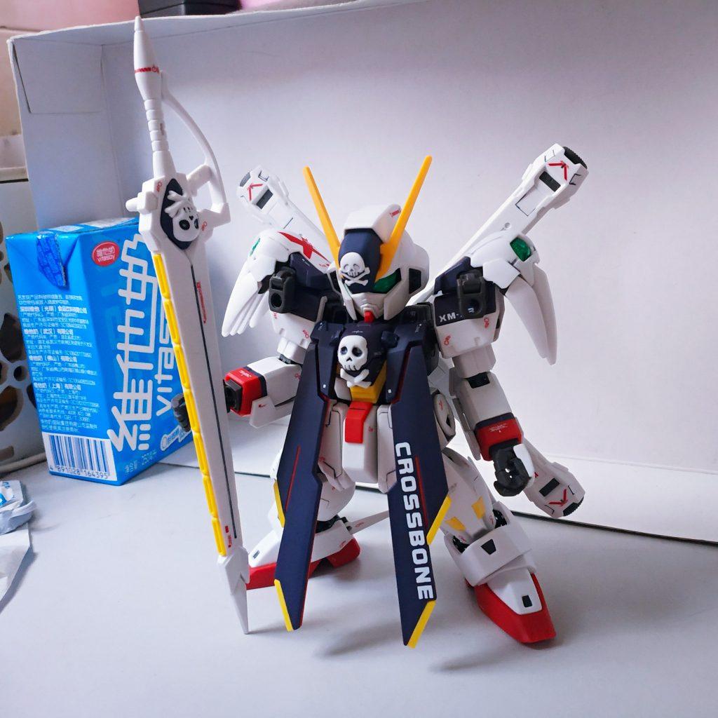 SD Cross Bone Gundam Full Cloth アピールショット4