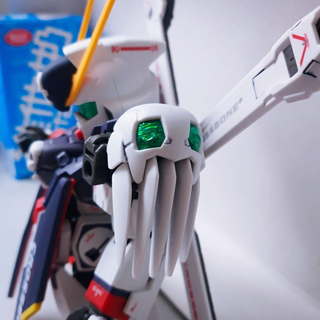 SD Cross Bone Gundam Full Cloth 制作工程1