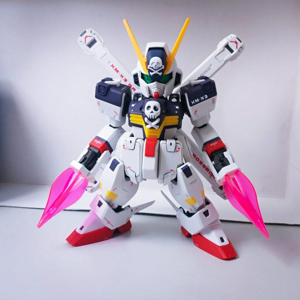 SD Cross Bone Gundam Full Cloth アピールショット3