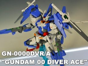 "HGBD GN-0000DVR/A ""GUNDAM 00 DIVER ACE"""