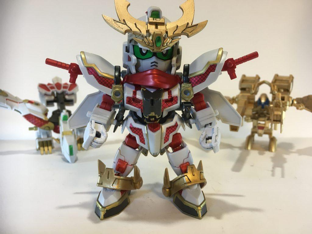 RX-零丸 金色の羽衣 装備