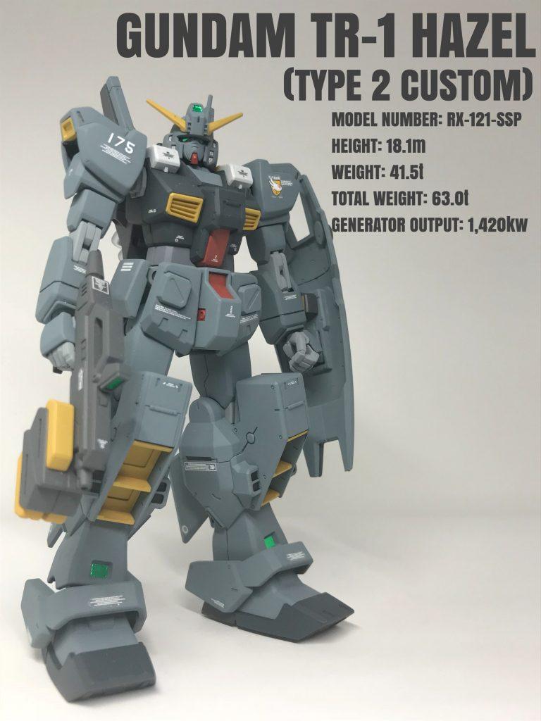 ガンダムTR-1ヘイズル(改弐式)