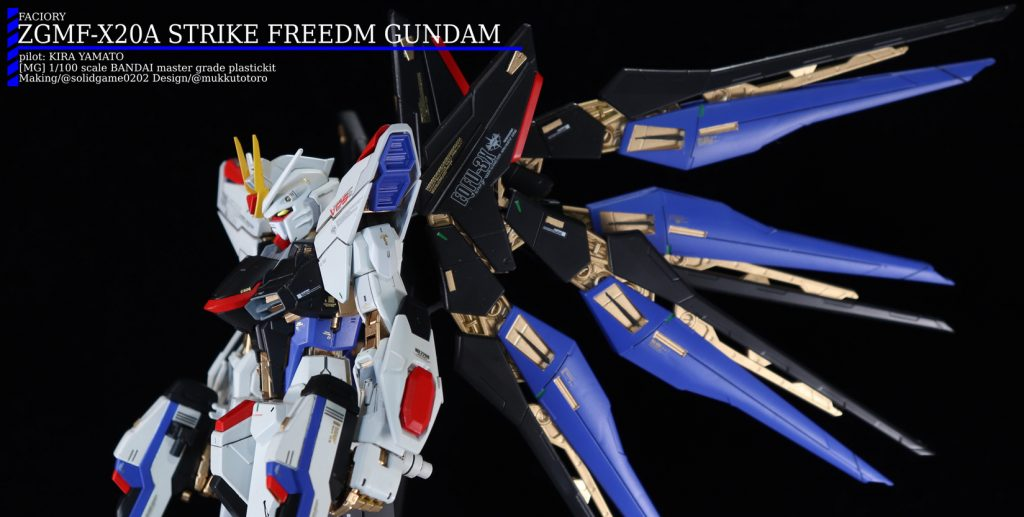 [MG]ZGMF-X20A STRIKE FREEDOM GUNDAM