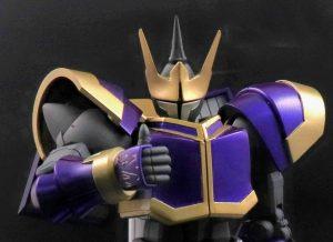 邪悪なる者あらば 鋼の鎧を身に付け 地割れの如く邪悪を切り裂く戦士あり