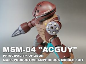 "HGUC MSM-04 ""ACGUY"""