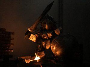 篝火の騎士