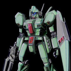 MG RGM-89 ジェガン イラスト風塗装