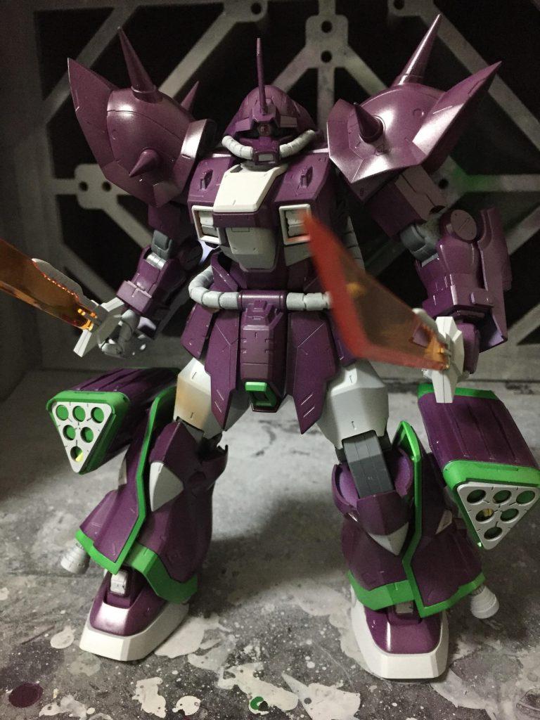 REイフリート改(My color ver.) 制作工程3