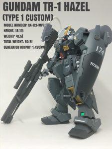 ガンダムTR-1ヘイズル(改壱式)