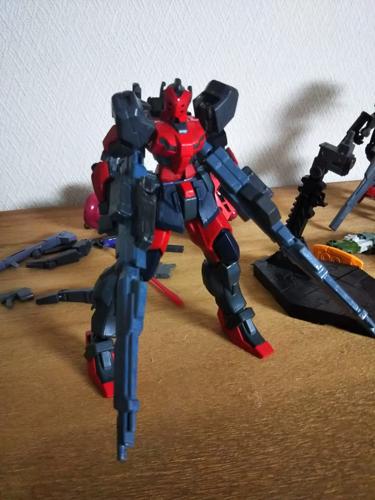 SPECTER YAEGER   Type Red shadow アピールショット4