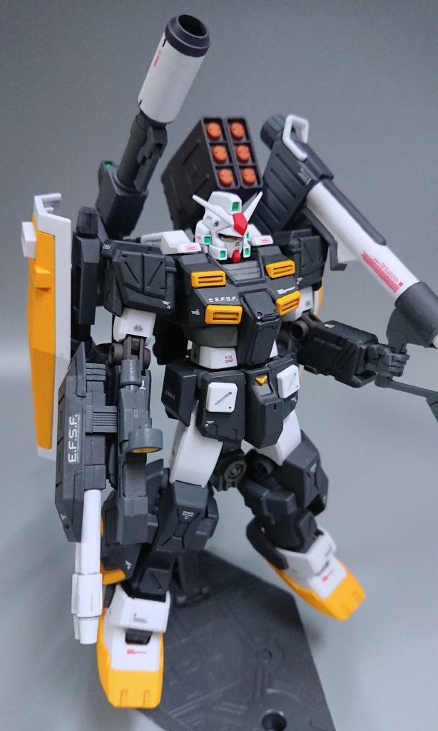 RGM-79 パワード・ジム カスタム(ガンダムタイプ) アピールショット1