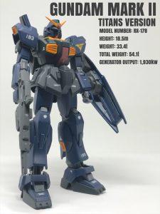 ガンダムマークⅡ(ティターンズカラー)