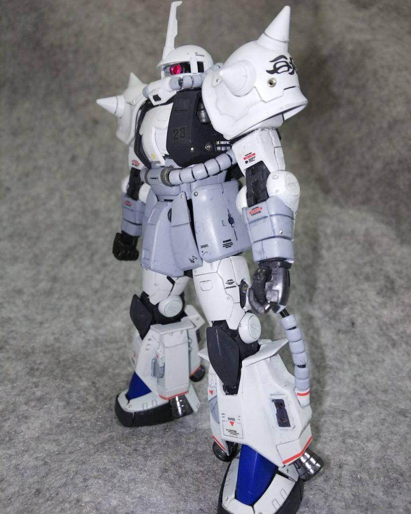 RGザク改造MS-06R1-Aシン・マツナガカスタム