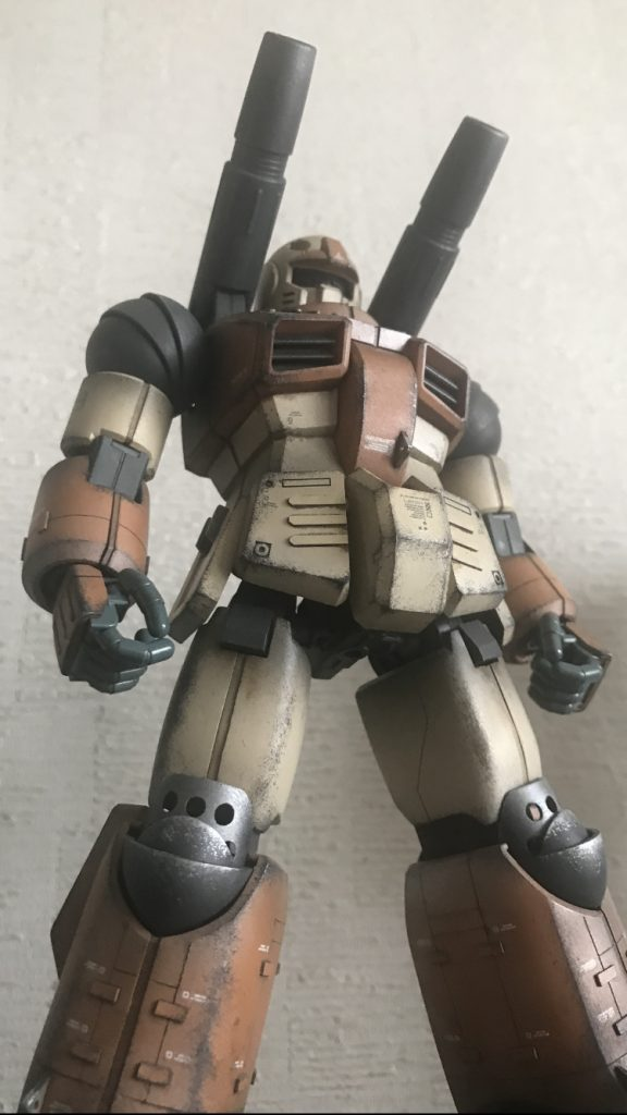MG ガンキャノン 陸戦カラー