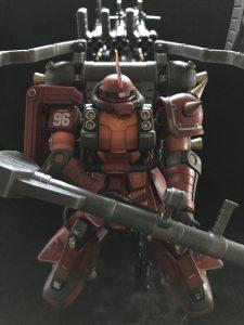 【MG風味】HG 1/144 サイコ・ザク(GUNDAM THUNDERBOLT Ver.)