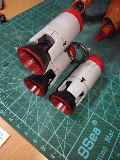 サイコ・ジェガン(サイコマスター) 制作工程3