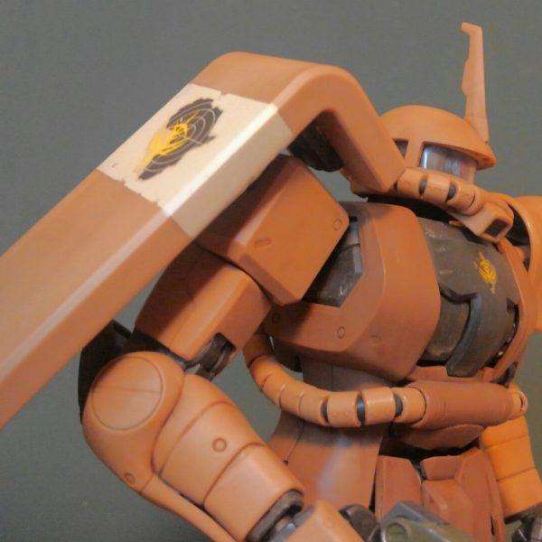 1/100 ザクⅡ(アフリカ戦線仕様)