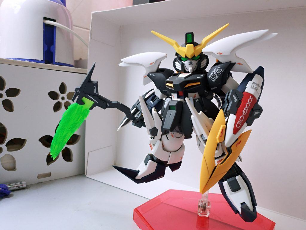 SD Gundam Deathscythe アピールショット2