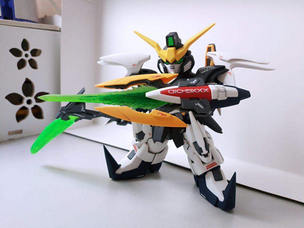 SD Gundam Deathscythe アピールショット4