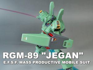 """HGUC RGM-89 """"JEGAN"""""""