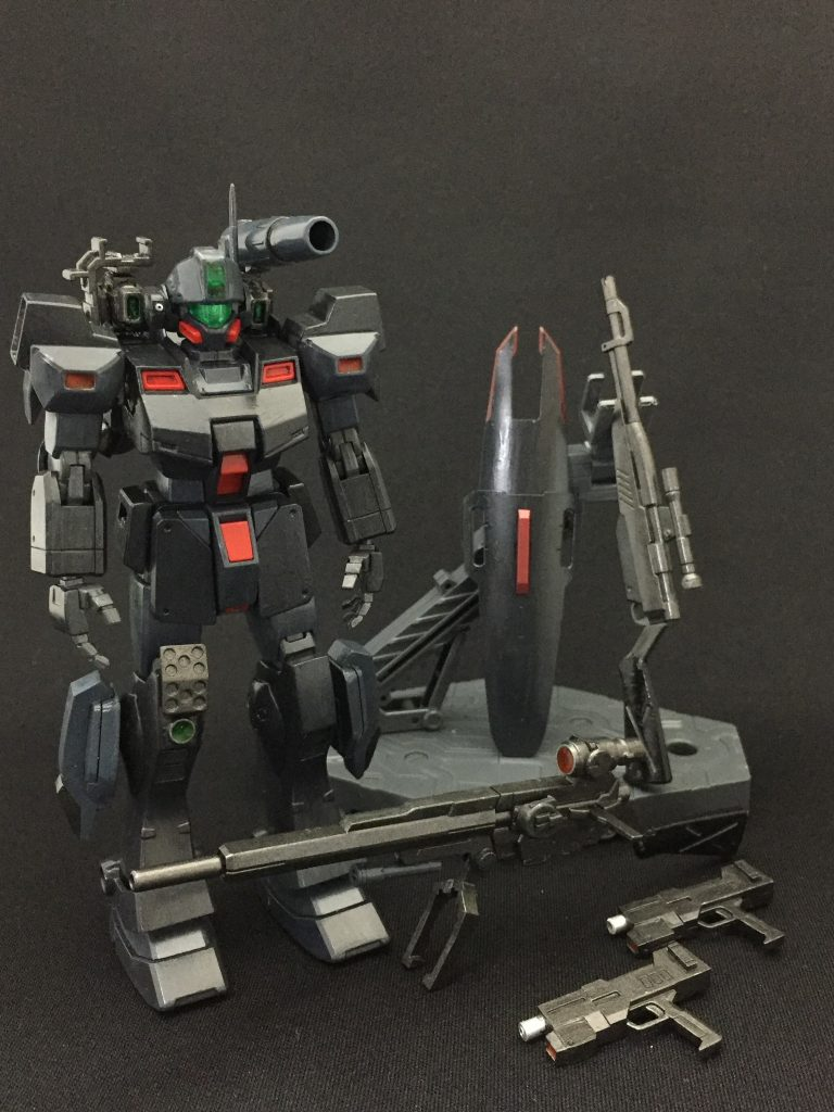 GM Sniper Ⅱ Custom (ジムスナイパーⅡカスタム) アピールショット2