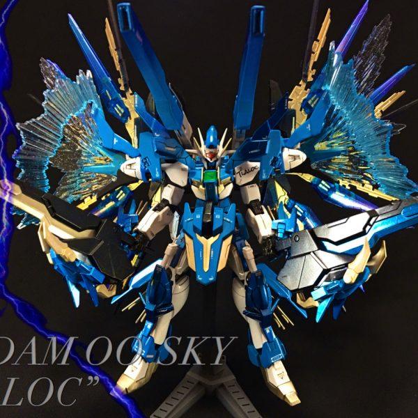"Gundam 00-Sky ""TRALOC"""