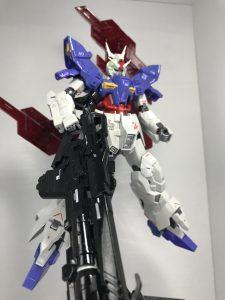 ムーンガンダム オリジナルカラーリング 〜パール仕上げ〜  重装備・アムロ仕様