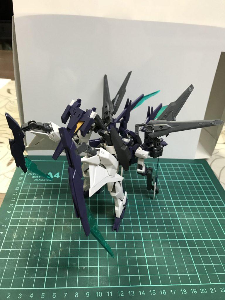 AGEⅡ M-antislayer 制作工程6