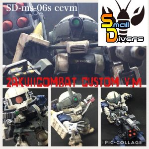 ZakuⅡ combat custom V.M