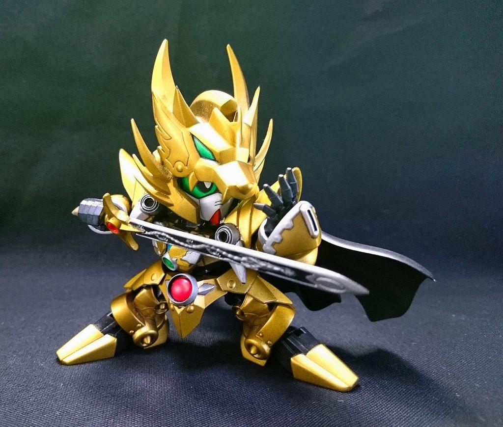 黄金の騎士 アピールショット2