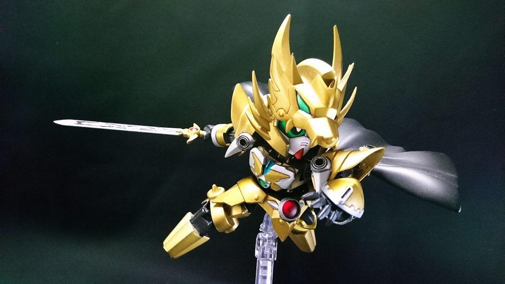 黄金の騎士 アピールショット3