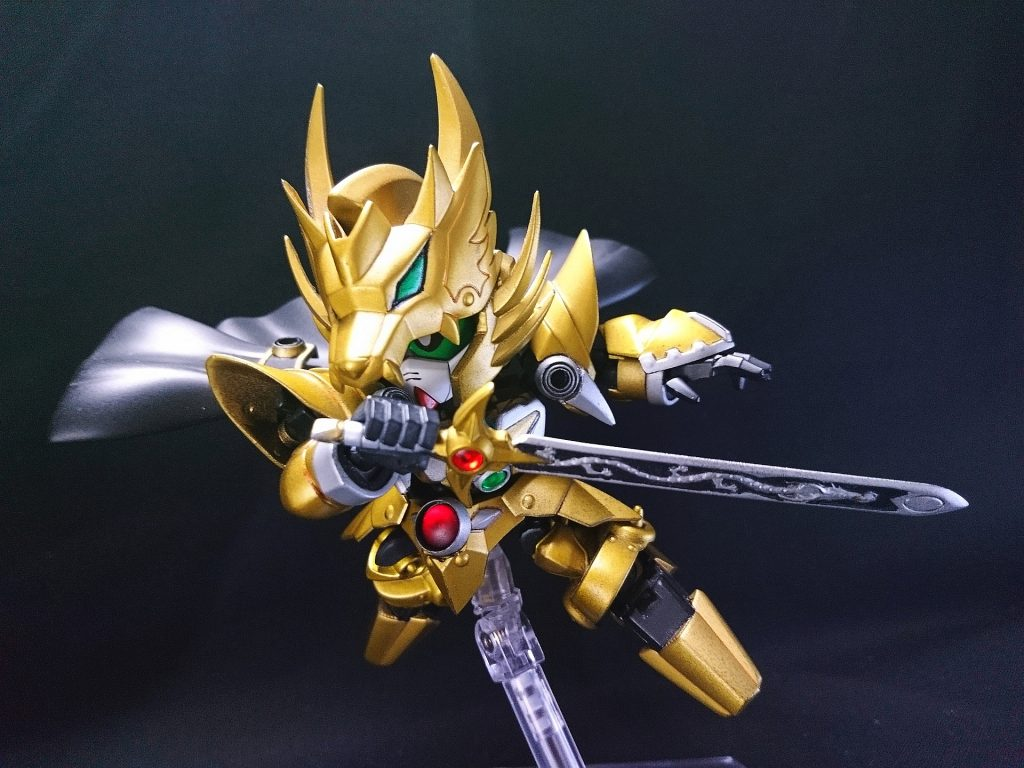 黄金の騎士 アピールショット4