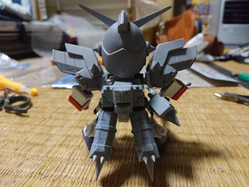 鎧騎士/重甲騎士ガンダムF90 制作工程7