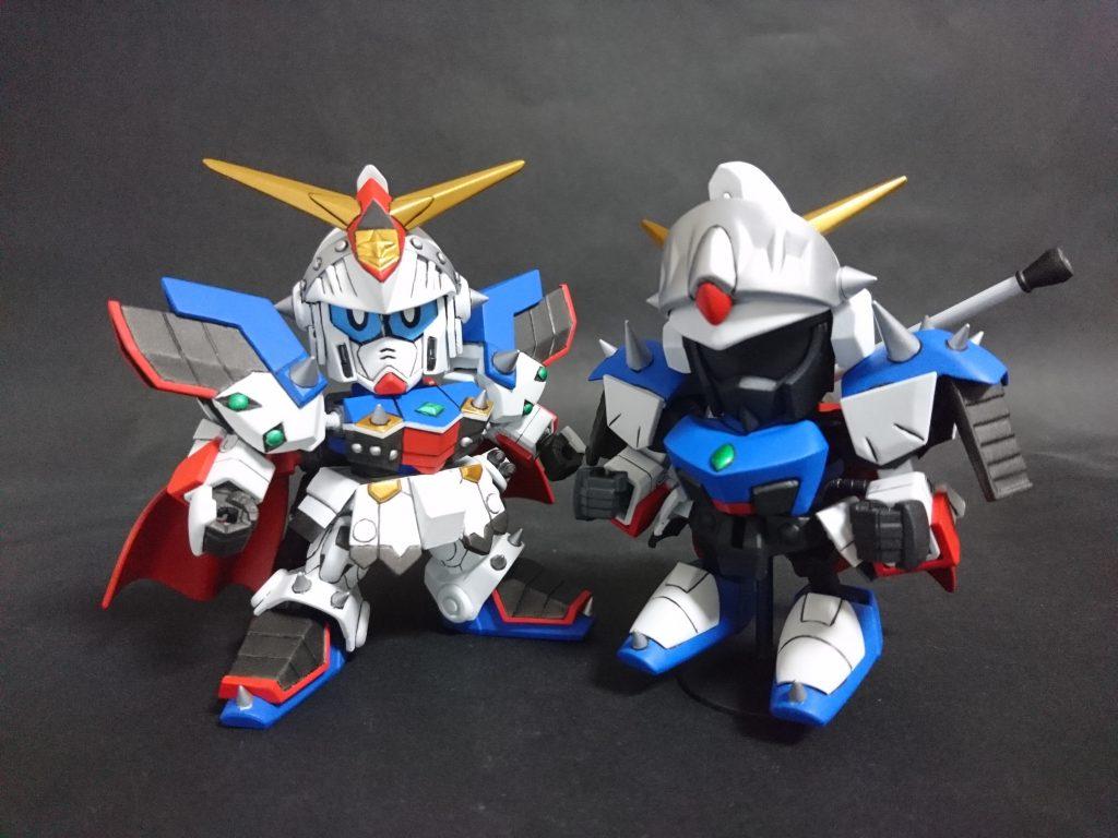 鎧騎士/重甲騎士ガンダムF90 制作工程4