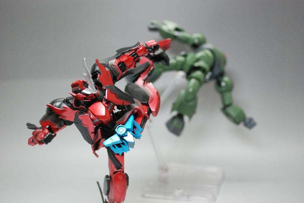 闘魂バルバトスゴースト・ブースト アピールショット2