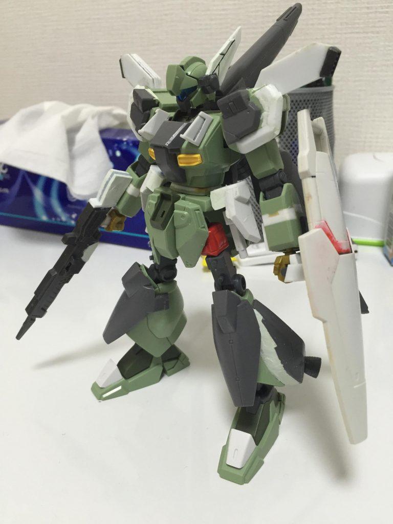 RGM-89Sν ν-Sジェガン 制作工程1
