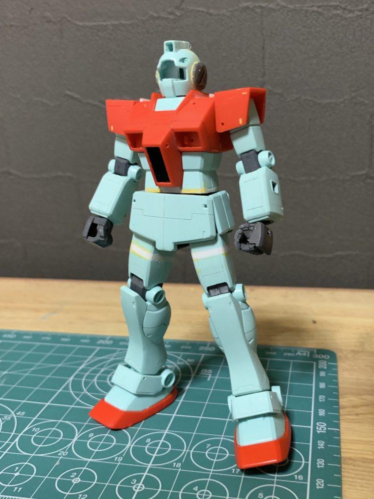 HGUC RGM-79 ジム 制作工程1