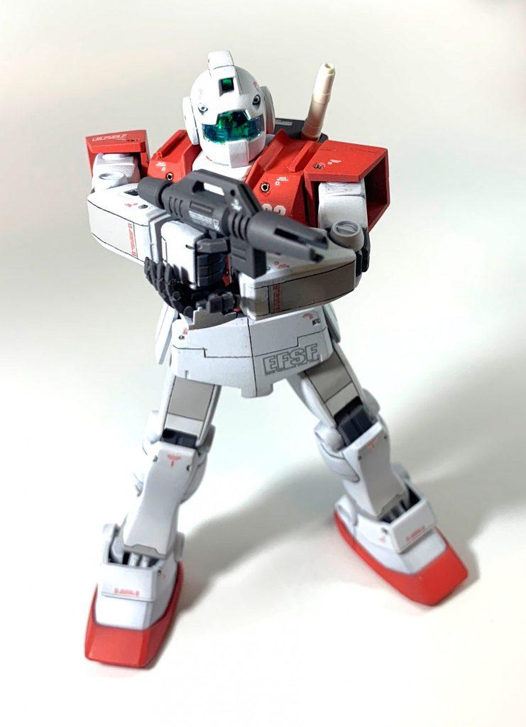 HGUC RGM-79 ジム アピールショット3